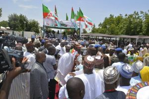 PDP leaders in Yobe decamp to APC [PHOTOS]