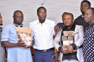 Prophet Jeremiah Omoto Fufeyin Gave Youths N3 Million (Photos)