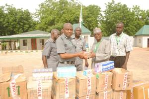 Customs hand over 73 cartons of fake codeine syrup to NAFDAC [PHOTOS]