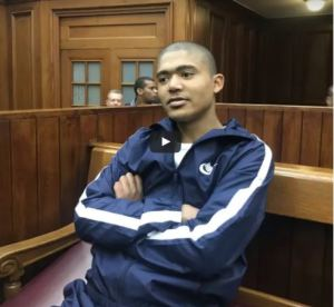 , South African serial killer claps and smiles after being sentenced to 71 years imprisonment (Video), Effiezy - Top Nigerian News & Entertainment Website