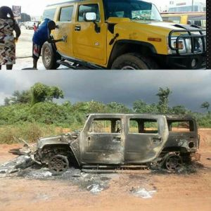 Bishop Miracle Williams Gifted Range Rover Jeep After His Hummer Jeep Got Burnt