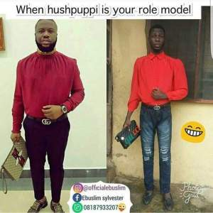 Man that took Hushpuppi as his role model (Photo)