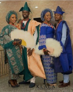 Two sisters wed same day in Lagos (Photos)
