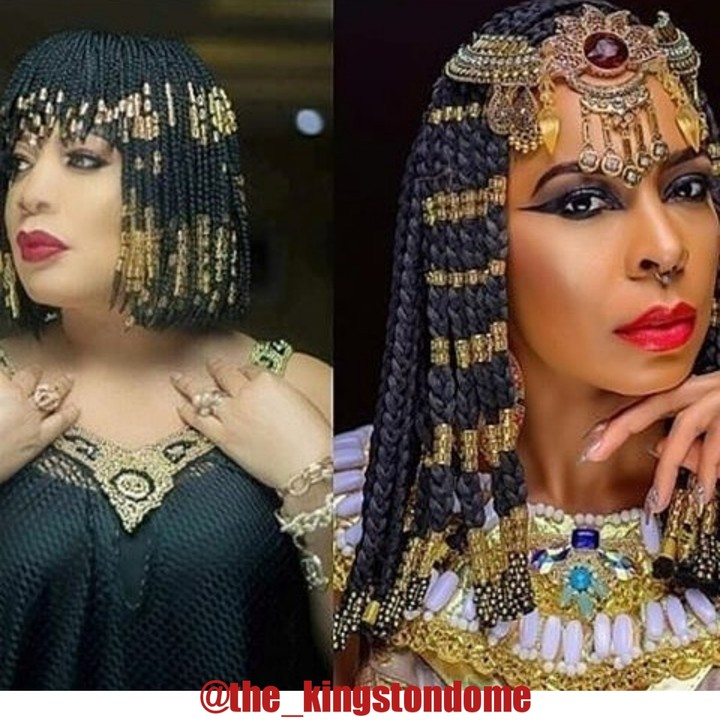 , Monalisa Chinda Or Tboss: Who killed the Cleopatra look?, Effiezy - Top Nigerian News & Entertainment Website