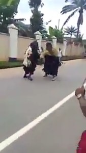 Masquerades Flog Each Other (Video)