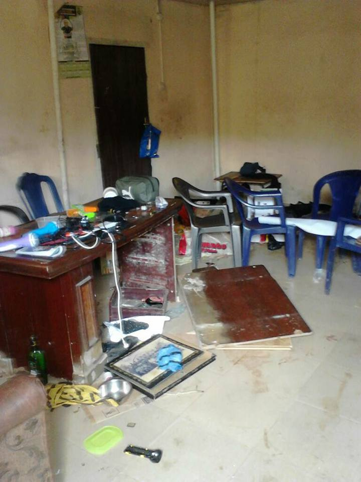 , Nnamdi Kanu's house after Military invasion in Umuahia (Photos), Effiezy - Top Nigerian News & Entertainment Website