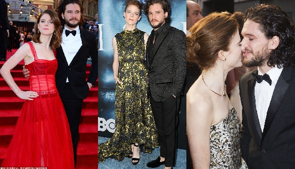 , Game of Throne Star's, Kit Harington and Rose Leslie Are Engaged, Effiezy - Top Nigerian News & Entertainment Website