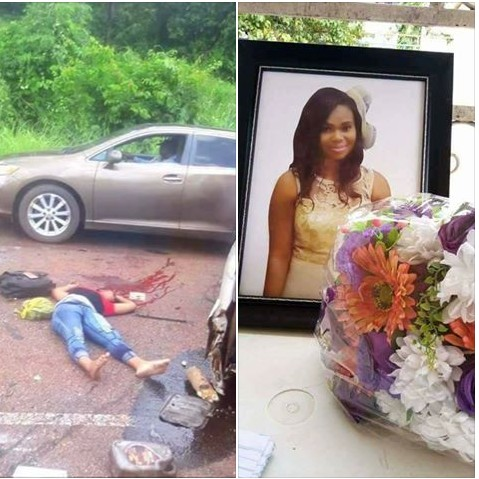 , Female UNIZIK Post-UTME candidate dies in accident (Graphic Photos), Effiezy - Top Nigerian News & Entertainment Website