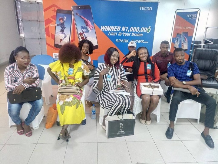 , Tecno One Million Naira Finalists Audition (Pictures), Effiezy - Top Nigerian News & Entertainment Website