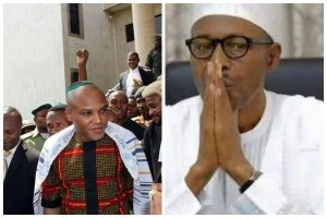 Nnamdi Kanu plotting to overthrow Buhari, split Nigeria  – Arewa youths