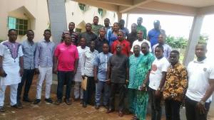 Members of Neoo Black Movement (Black Axxe) visit PDP executive in Delta. (Photos)