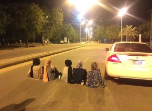 "Nigerians Take The ""Take Your Car On A Date"" Trend To A Higher Level"