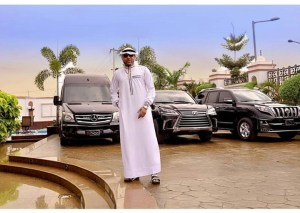 , E-money shares new photo of his garage as he celebrates with Muslims, Effiezy - Top Nigerian News & Entertainment Website