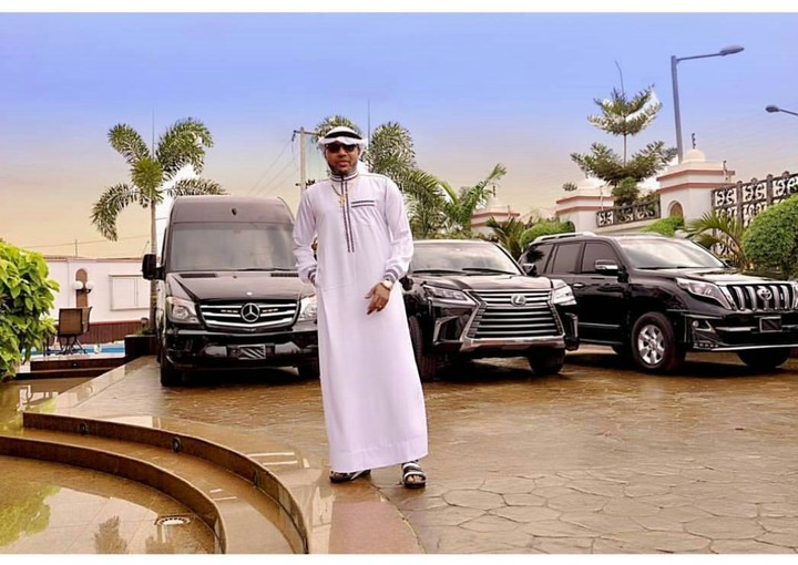 E-money shares new photo of his garage as he celebrates with Muslims