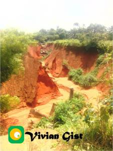 Ebenator erosion gully in Nnewi-South, Anambra State is now a death trap