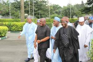 Northern Governors Visit Governor Wike (Photos)