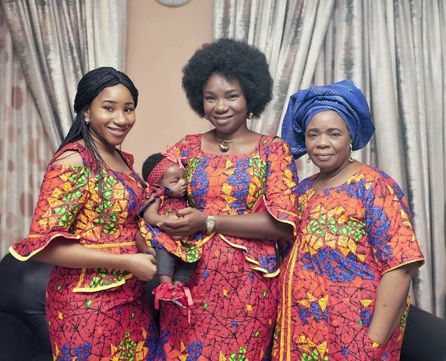, See this beautiful photos of four-generation, Effiezy - Top Nigerian News & Entertainment Website