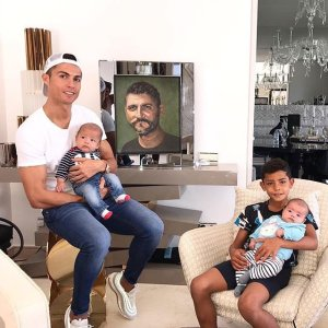 Dope Finishing:- See The Superb Goal Scored By Cristiano Ronaldo's Son (Video)