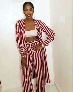 See how Tiwa Savage dressed to her unveiling as Megagrowth Ambassador