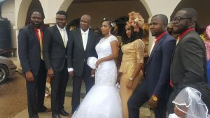 Nollywood Actor, Zack Amata weds for the first time in his 60s (Photos)