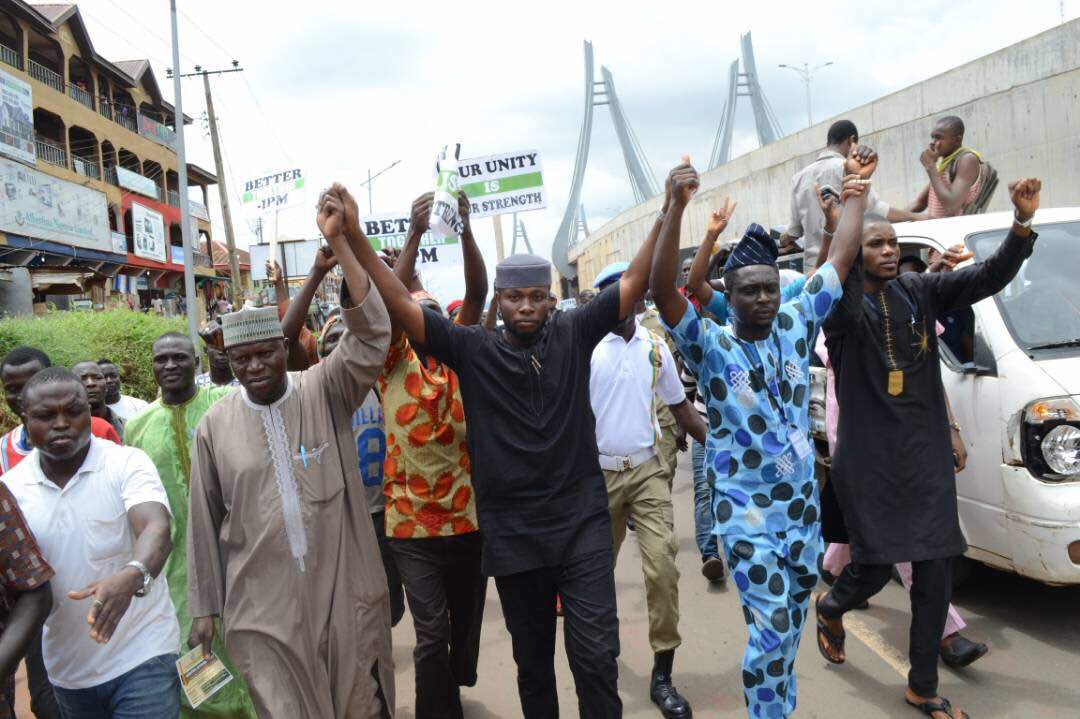 , Independence peace rally in Anambra State by Arewa, Ndigbo And Yoruba (Photos), Effiezy - Top Nigerian News & Entertainment Website