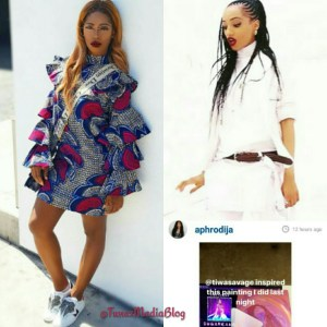 Tiwa Savage's huge shadow gradually pushing Dija out of music business