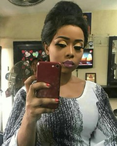 , Youngest wife of Alaafin of Oyo, Queen Ajoke gorgeous in makeup photo, Effiezy - Top Nigerian News & Entertainment Website