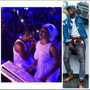 Braless fan gives Orezi thrilling performance on stage [VIDEO]