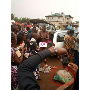 Man caught with 7 human heads in Ogun State(photo)