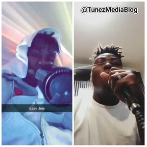 Reekado Banks drowns himself in Alcohol & Shisha (Photos+Video)