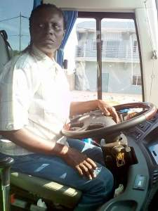Married Woman Who Drives GUO Luxurious Bus From Lagos To Ghana (Photos)