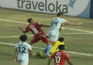 Oh No! Goalkeeper Tragically Dies During Football Match After Colliding With Team-Mate (Video)