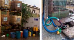Navy uncovers hotel where fuel is siphoned in Lagos (Photo)