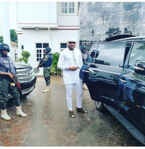 E-money And His Security Detail In His Five Star Mansion (Photo)