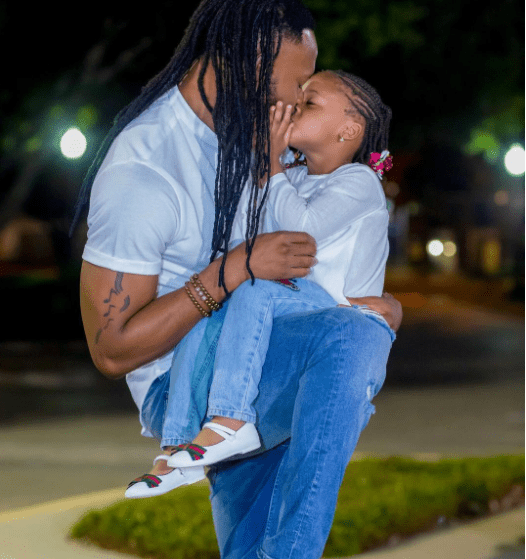 , Flavour's IG followers blast him over kissing photo with his 3-Year old daughter, Effiezy - Top Nigerian News & Entertainment Website