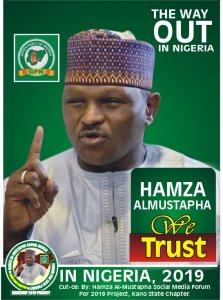 2019: Abacha's former CSO, Al Mustapha presidential posters hits streets
