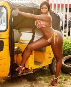 Watch as a curvy IG model reveals her intentions to 'dump' Dangote & chase after GEJ because of his 'coins' (Video)