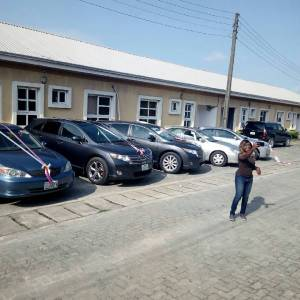 Tim Godfrey buys 5 cars for his crew members (Photos)