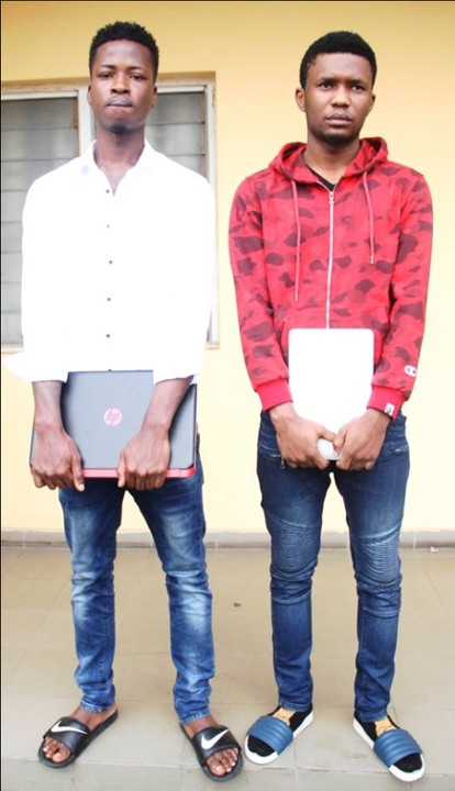 , Yahoo Boys with exotic car and house arrested by EFCC in Lagos., Effiezy - Top Nigerian News & Entertainment Website