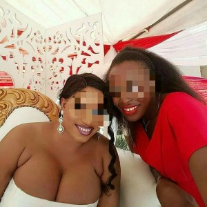 Photo Of A Busty Bride With Massive Cleavage Got Nigerians Talking (Photo)