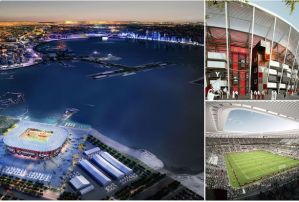 Qatar unveil movable 40,000-seat stadium for 2022 World Cup (Photos)