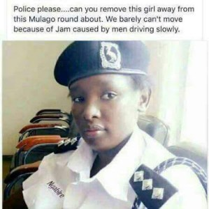 'She's A Distraction' – Male Motorists In Uganda Demand Removal Of Pretty Traffic Warden From A Road