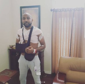 Banky W Undergoes 3rd Cancer Surgery (Photos)