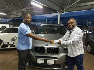 Prophet Gives BMW X3 To 2 Members Of Media His Team (Photos)