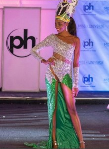Check out the gown Nigeria's rep at Miss Universe 2017 wore (Photo)