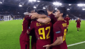 Diego Perotti puts his finger in El Sharaawy's ass after goal Vs Chelsea (Video)
