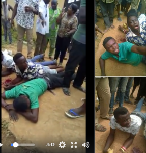'I Thank God For Saving My Wife From These Kidnappers' – Man shares Video Of Kidnappers (Watch)
