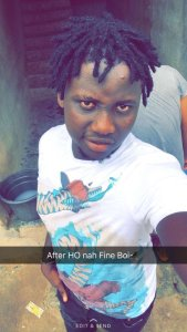 Yahoo Boy Disgraced For Stealing Friend's Gold Chain (Photos)