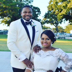 Married Physically Challenged Nigerian Blogger, Lizzy Oke Reveals How She Curved Her Husband (Photos)