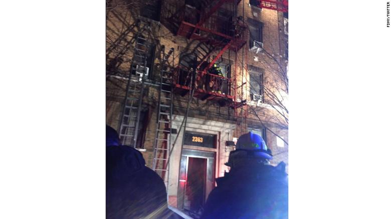 , Fire in New York kills 12 people and a child (Photos), Effiezy - Top Nigerian News & Entertainment Website
